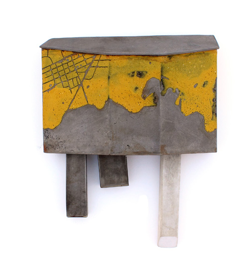 Cole - Construction #1 Brooch