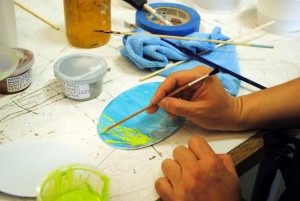 Painting enamels